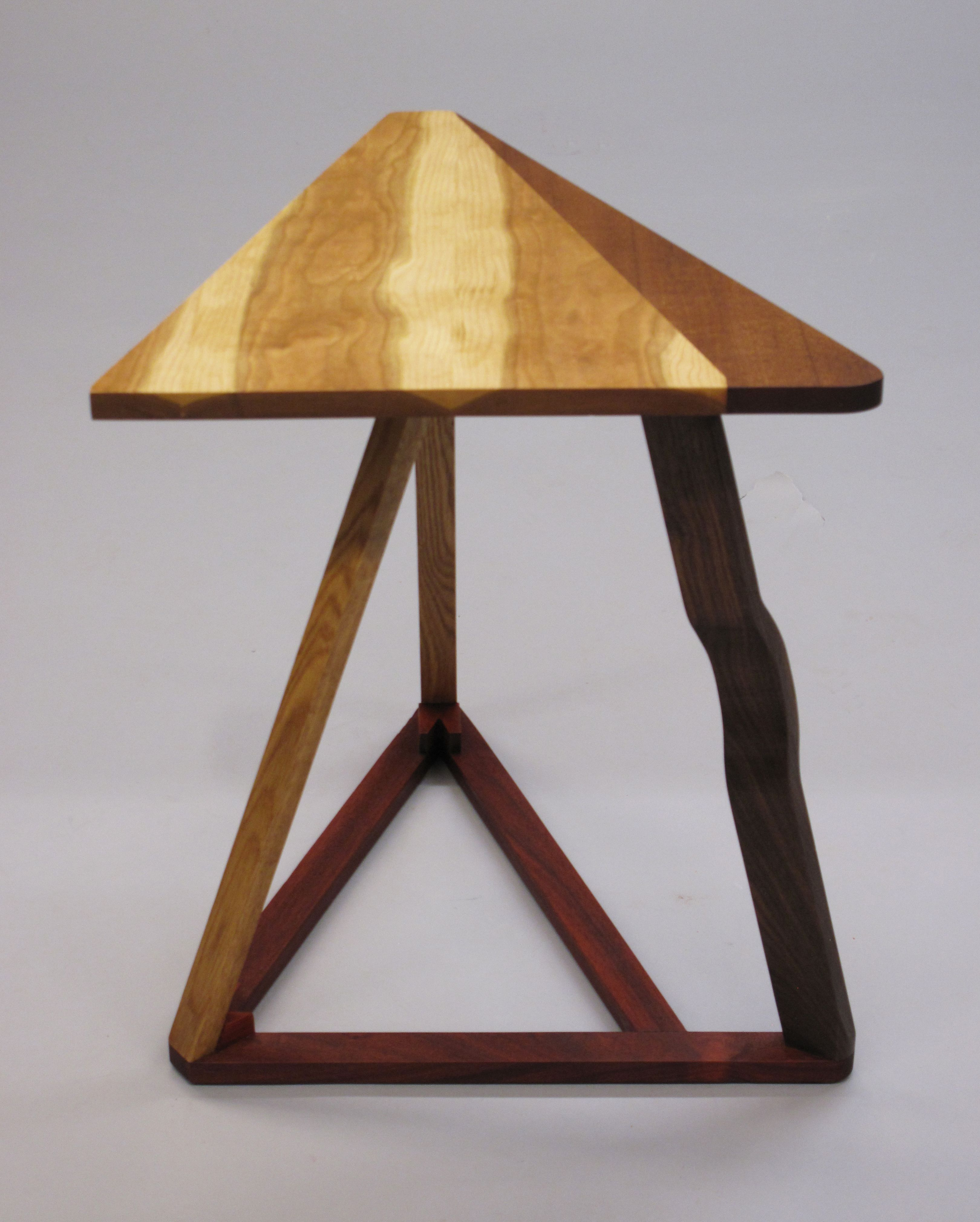 Triangle Table Front